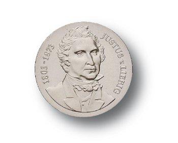 10-Mark-Münze 1978, 175. Geburtstag Justus von Liebig, DDR