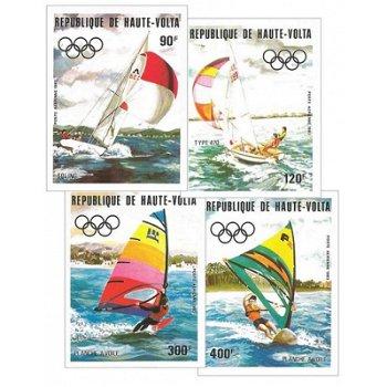 Olympische Sommerspiele 1984, Los Angeles – Briefmarken postfrisch, ungezähnt, Katalog-Nr. 909-912,