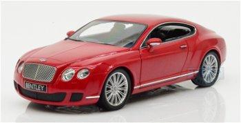 Modellauto:Bentley Continental GT 2008, rot(Minichamps, 1:18)