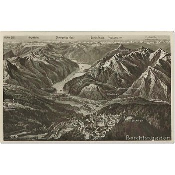 8240 Berchtesgaden - Bildpostkarte