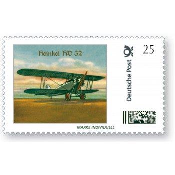 Flugzeug Heinkel HD 32 - Marke Individuell postfrisch