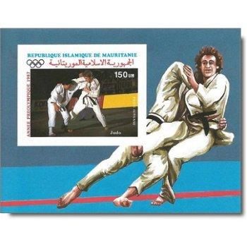 Olympische Sommerspiele 1988, Seoul - Briefmarken-Block ungezähnt postfrisch, Katalog-Nr. 910 Bl. 68