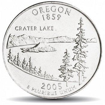 Oregon, State Quarters Münze, USA