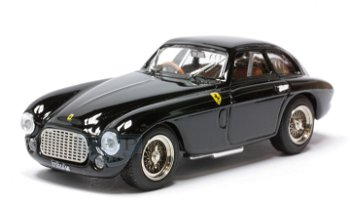 Modellauto:Ferrari 166 MM Coupé von 1949, schwarz(Art Model, 1:43)