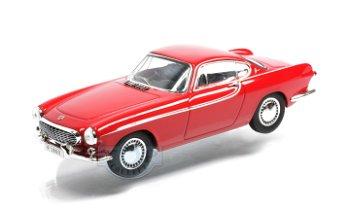Modellauto:Volvo P 1800 von 1963, rot(Norev, 1:43)