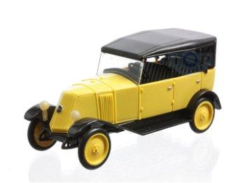Modellauto:Renault NN1 Cabrio, gelb-schwarz(Rietze, 1:87)