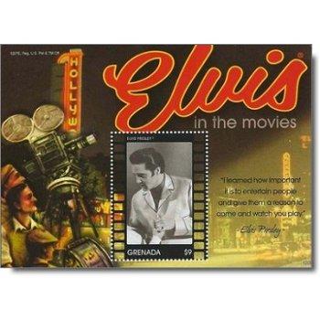 Elvis Presley - Briefmarken-Block postfrisch, Grenada