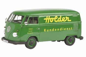 Modellauto:VW T1b Kastenwagen- Holder Kundendienst -(Schuco/PRO.R32, 1:32)