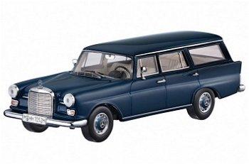Modellauto:Mercedes-Benz 230 Universal (W110), blau(Spark, 1:43)