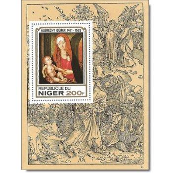 450. Todestag von Albrecht Dürer - Luxusblock postfrisch, Katalog-Nr. 653, Niger