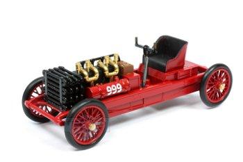 Modellauto:Ford 999 von 1902, rot(RIO, 1:43)