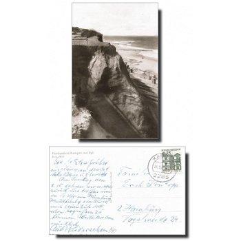 "2285 Kampen - Postkarte ""Rotes Kliff"""