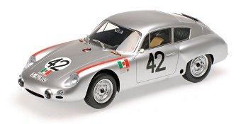 Modellauto:Porsche 356 B 1600 GSCarrera GTL Abarth- Targa Florio 1962 -(Minichamps, 1:18)