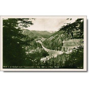 """6304 Frauenwald am Rennsteig - Postkarte """"Wald"""""""