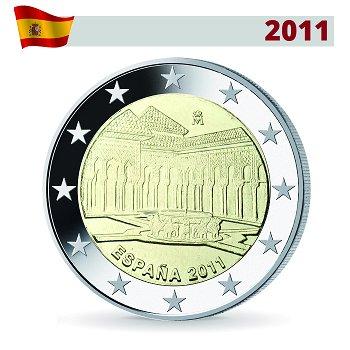 2 Euro Münze 2011, Alhambra, Spanien