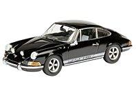 Modellauto:Porsche 911 S, schwarz(Schuco, 1:43)