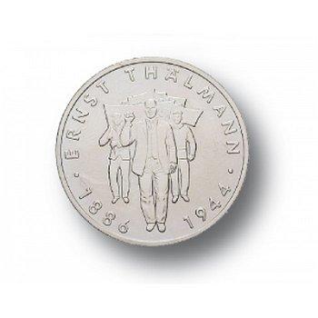 10-Mark-Münze 1986, 100. Geburtstag Ernst Thälmann, DDR