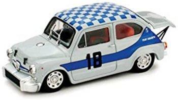 Modellauto:Fiat Abarth 1000 Berlina von 1968(Brumm 1:43 )