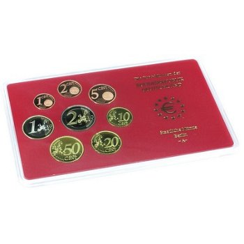 Coin set 2004 in a folder, Proof (with all mints), Germany