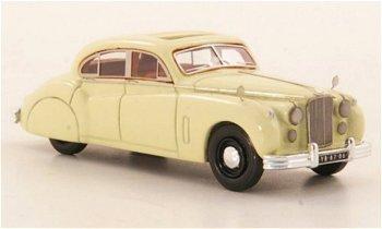 Modellauto:Jaguar Mk VII von 1955, creme(NEO, 1:87)