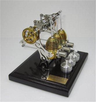 BHB 33 - Triple Tattoo -3-Zylinder Stirling-Motor(Böhm)