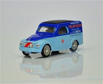 Modellauto:Fiat 500 C Belvedere - Telefunken -(Brumm, 1:43)