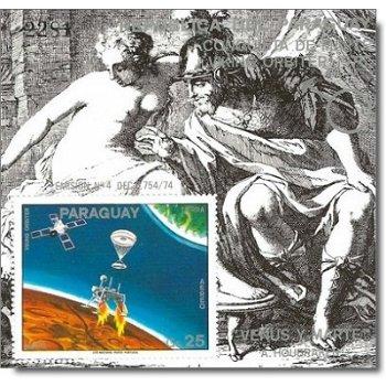 Weltraum: Eroberung des Mars - Briefmarken-Block postfrisch, Katalog-Nr. 2832 Bl. 281, Paraguay