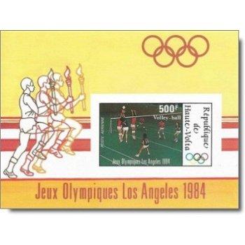 Olympische Sommerspiele, Los Angeles – Briefmarken-Block postfrisch, ungezähnt, Katalog-Nr. 934, Blo