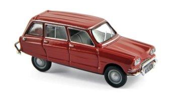 Modellauto:Citroen Ami 6 Break von 1968, rot(Norev, 1:87)