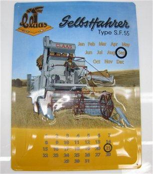 Blechschild:Der Claas Selbstfahrer Type S.F.55 - Kalender(30 x 40 cm)