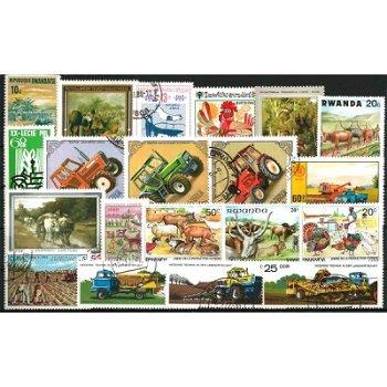 Landwirtschaft - 50 verschiedene Briefmarken
