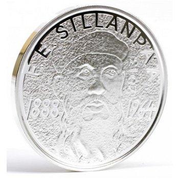 """10-Euro-Silbermünze """"Nobelpreisträger Sillanpää"""", Finnland"""