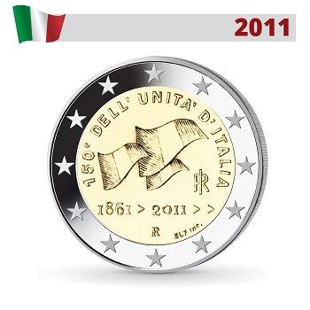 150 Jahre Vereinigung Italiens, 2 Euro Münze 2011, Italien