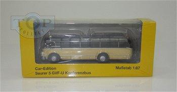 Modell-Bus:Saurer 5 GVF-U Konferenzbus- Österreichische Post -(Starline Models, 1:87)