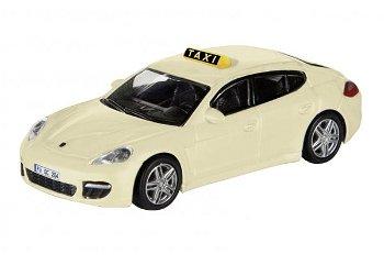 """Modellauto:Porsche Panamera """"Taxi"""", creme(Schuco, 1:87)"""