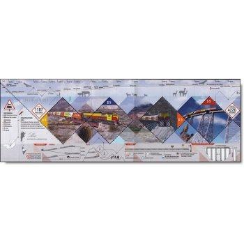 Der Zug in die Wolken - Briefmarken-Block postfrisch, Argentinien