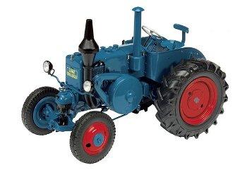 Modell-Traktor:Lanz Ackerluft Bulldog D 9506, blau(Schuco, 1:32)
