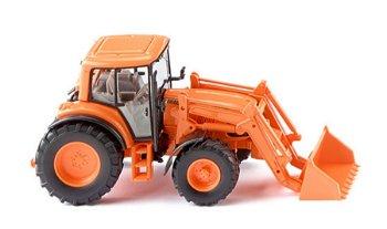 Modell-Traktor:John Deere 6920 S mit Frontlader, orange(Wiking, 1:87)