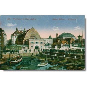 "2300 Kiel - Postkarte ""Fischerhafen"""