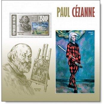 Paul Cézanne - Briefmarken-Block postfrisch, Niger
