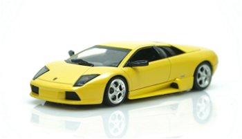 Modellauto:Lamborghini Murciélago von 2004, gelb(Minichamps, 1:43)