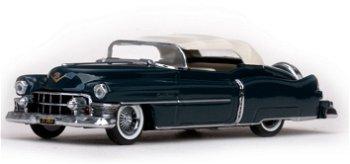 Modellauto:Cadillac Eldorado als geschlossenes Cabriolet von 1953, dunkelgrün(Vitesse, 1:43)