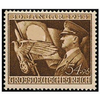 20. Jahrestag des Hitlerputsch - Briefmarke, Katalog-Nr. 863, postfrisch, Deutsches Reich