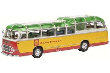 Modellbus:Auwärter Neoplan FH 11 - Shell Renndienst - von 1960(Schuco/PRO.R43, 1:43)