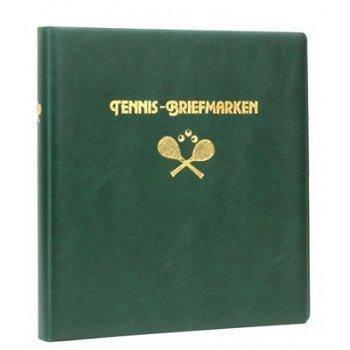 Tennis - LINDNER Motivringbinder, grün