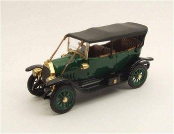 Modellauto:Fiat Zero Farina von 1914, grün(Rio, 1:43)