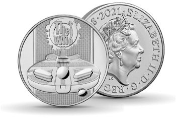 Musik Legenden: The Who - 5 Pfund Münze 2021, Großbritannien