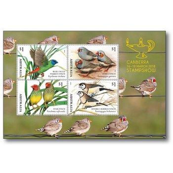 Vögel - Briefmarken-Block postfrisch, Australien