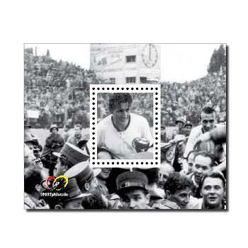100. Geburtstag Fritz Walter - Sonderdruck postfrisch, Deutschland