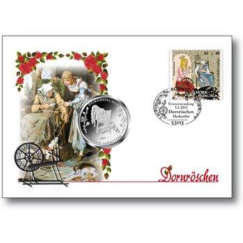 Grimms Märchen/Dornröschen - Numisbrief, Deutschland